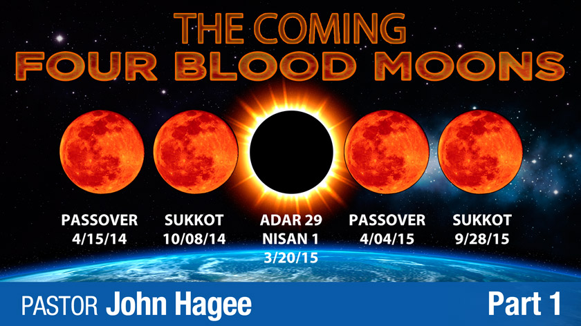 4 BLOOD RED MOONS 2014-2015 | zeitgeist777